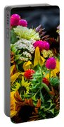 A Bouquet Of Flowers  Portable Battery Charger