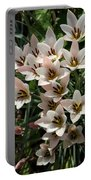 A Bouquet Of Miniature Tulips Celebrating The Spring Season - Vertical Portable Battery Charger