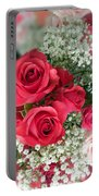 A Bouquet Of Roses For You Portable Battery Charger