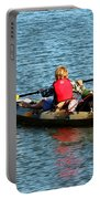 A Boy And His Canoe Portable Battery Charger