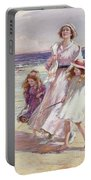 A Breezy Day At The Seaside Portable Battery Charger