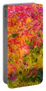 Autumn In Yountville, California Portable Battery Charger