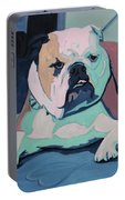 A Bulldog In Love Portable Battery Charger