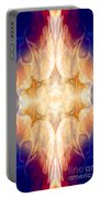 A Burst Of Light Abstract Living Artwork By Omaste Witkowski Portable Battery Charger