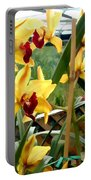 A Cage Of Canary Cymbidiums Portable Battery Charger