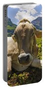 A Calf In The Mountains Portable Battery Charger