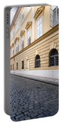 A Charming Street In Prague Portable Battery Charger