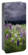 A Childs Dream Among Lupine Portable Battery Charger