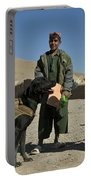 A Coalition Forces Military Working Dog Portable Battery Charger