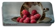 A Cupfull Of Raspberries Portable Battery Charger