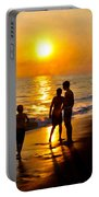 A Day At The Beach Portable Battery Charger