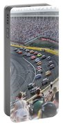 A Day At The Racetrack Portable Battery Charger