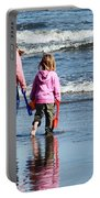 A Day At The Seaside  Portable Battery Charger
