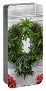 A Different Christmas Wreath Portable Battery Charger