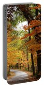 A Drive Through The Woods Portable Battery Charger