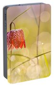A Fairies' Place II _snake's Head Fritillary Portable Battery Charger
