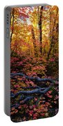 A Fall Forest  Portable Battery Charger