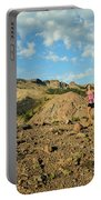 A Family Enjoys The Views Portable Battery Charger