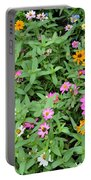 A Field Of Flowers Portable Battery Charger