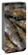 A Fine Catch Of Trout - Steel Engraving Portable Battery Charger