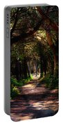 A Forest Path -dungeness Spit - Sequim Washington Portable Battery Charger