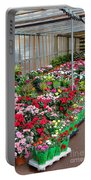 A French Flower Market Portable Battery Charger
