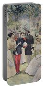 A Garden Party At The Elysee Portable Battery Charger