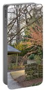 A Garden Walk In February Portable Battery Charger