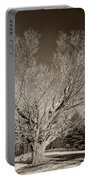 A Giant Sleeps Sepia Portable Battery Charger