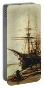 A Harbor Portable Battery Charger by Eugene Galien-Laloue