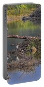 A Hedge Of Heron Portable Battery Charger