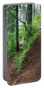 A Hiking Trail Goes Up Saddle Mountain Portable Battery Charger
