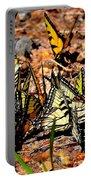 A Kaleidoscope Of Butterflies Portable Battery Charger