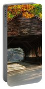 A Kancamagus Gem - Albany Covered Bridge Nh Portable Battery Charger