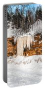 A Land Of Snow And Ice Portable Battery Charger