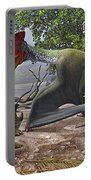 A Large Bakonydraco Pterosaur Attacking Portable Battery Charger by Sergey Krasovskiy