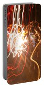 A Light Dance In Old Town Portable Battery Charger