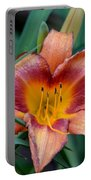 A Lily's Golden Heart Portable Battery Charger