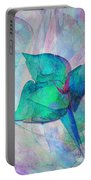A Little Flower Portable Battery Charger