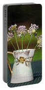A Little Jug Of Crow Garlic Portable Battery Charger
