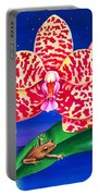 A Little Night Music Portable Battery Charger by Carolyn Steele