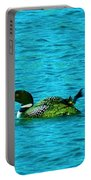 A Loonie Loon Portable Battery Charger by Jeff Swan