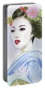 A Maiko  Girl Portable Battery Charger