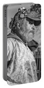 A Man With A Purpose Monochrome Portable Battery Charger