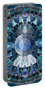 A Mandala Abstract Portable Battery Charger