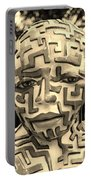A Maze Ing Man 3 Sepia Portable Battery Charger