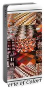 A Menagerie Of Colorful Quilts -  Autumn Colors - Quilter Portable Battery Charger