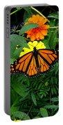 A Monarchs Colors Portable Battery Charger