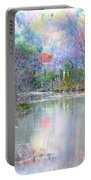 A Monet Autumn Portable Battery Charger