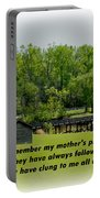 A Mother's Prayer Portable Battery Charger